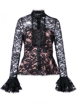 Блузка Inna Alexis. Цвет: чёрный