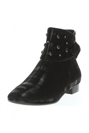 Ботинки GIADA GABRIELLI. Цвет: черный