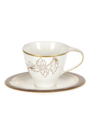 Набор из 6 кофейных пар 100 мл Royal Porcelain. Цвет: коричневый
