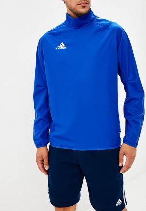Лонгслив спортивный adidas. Цвет: синий