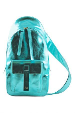 Рюкзак FRIJA. Цвет: бирюзовый
