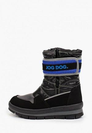 Дутики Jog Dog. Цвет: черный
