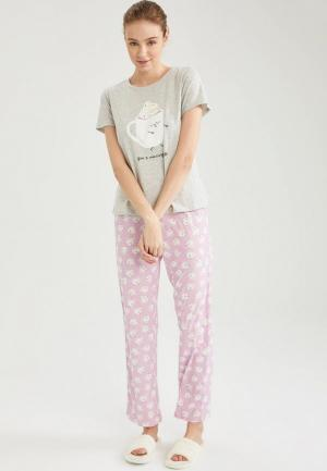 Пижама DeFacto. Цвет: разноцветный