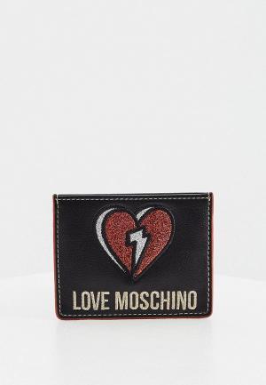 Кредитница Love Moschino. Цвет: черный