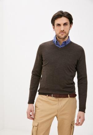 Пуловер Galvanni. Цвет: коричневый