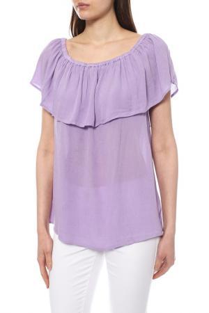 Блуза KAFFE. Цвет: сиреневый