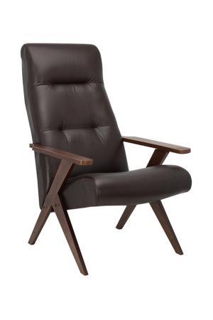 Кресло для отдыха LESET. Цвет: коричневый