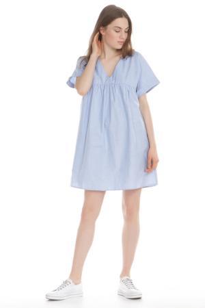Платье LUMIERE. Цвет: lt denim