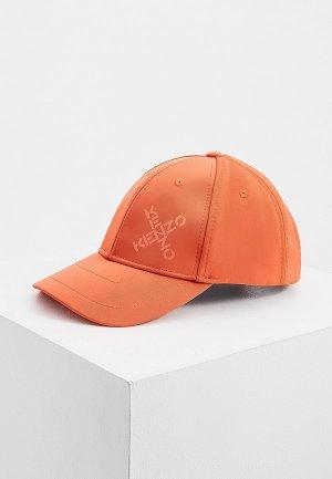 Бейсболка Kenzo. Цвет: оранжевый