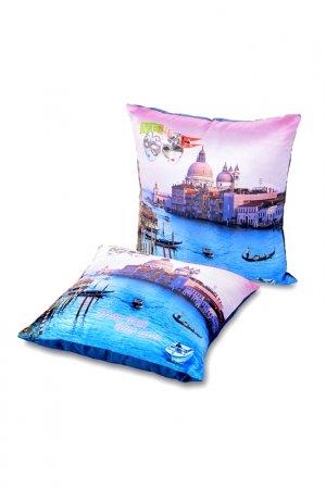 Подушка декоративная GIFTNHOME GIFT'N'HOME. Цвет: голубой