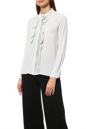 Блузка Disetta. Цвет: серый