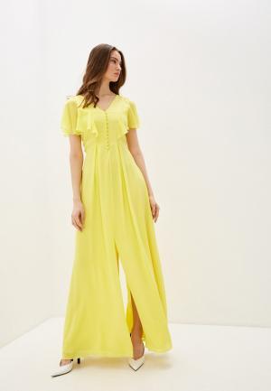 Платье Karl Lagerfeld. Цвет: желтый
