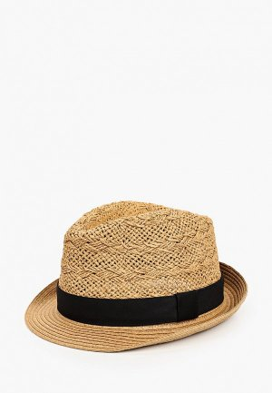 Шляпа Burton Menswear London. Цвет: бежевый