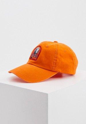 Бейсболка Parajumpers. Цвет: оранжевый