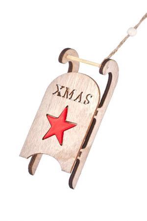 Подвеска-декор DUE ESSE CHRISTMAS. Цвет: бежевый