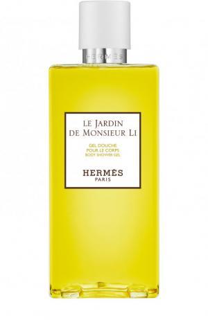 Гель для душа Le Jardin de Monsieur Li Hermès. Цвет: бесцветный