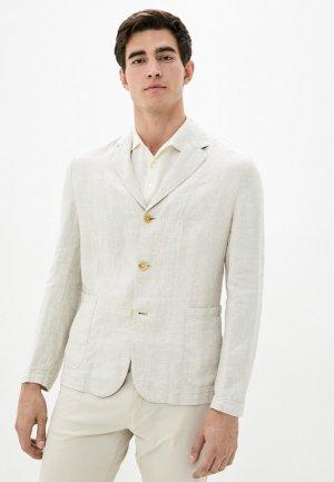 Пиджак Mango Man. Цвет: бежевый