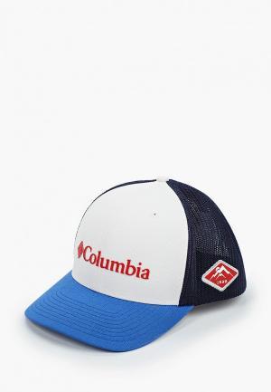 Бейсболка Columbia. Цвет: белый