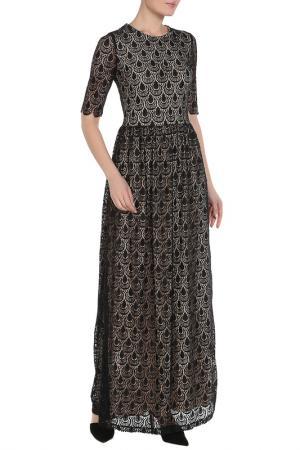 Платье La Reine Blanche. Цвет: черный