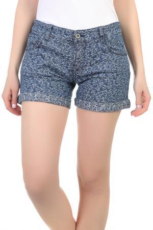 Джинсовые шорты FREESOUL. Цвет: голубой