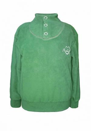 Олимпийка Irby Style. Цвет: зеленый