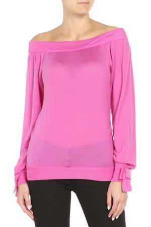 Пуловер Christian Dior. Цвет: бордовый