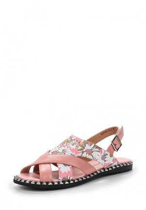 Сандалии King Boots. Цвет: розовый