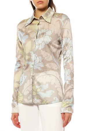 Рубашка ACNE STUDIOS. Цвет: bluegreen