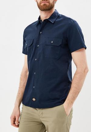Рубашка Dickies. Цвет: синий