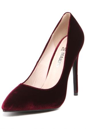 Туфли MAKFLY. Цвет: красный