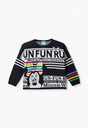 Джемпер United Colors of Benetton. Цвет: черный