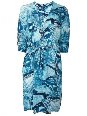 Платье Irene Minimarket. Цвет: синий