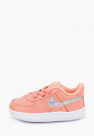 Кеды Nike. Цвет: коралловый