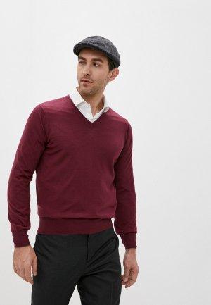 Пуловер Brunello Cucinelli. Цвет: бордовый