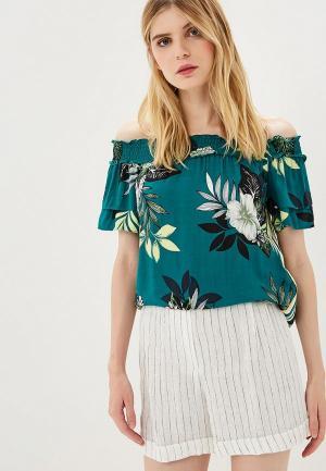 Блуза Dorothy Perkins. Цвет: зеленый