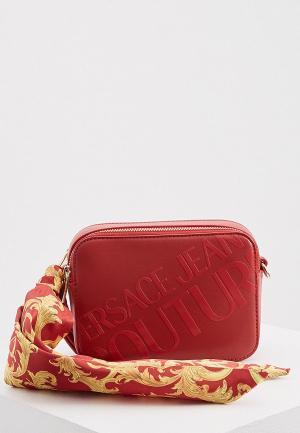 Сумка Versace Jeans Couture. Цвет: красный