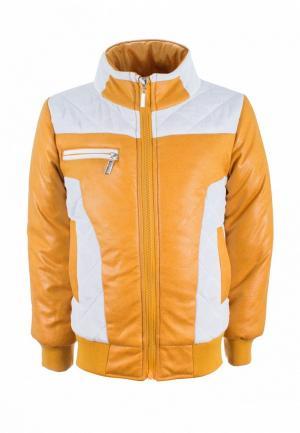 Куртка утепленная Irby Style. Цвет: желтый