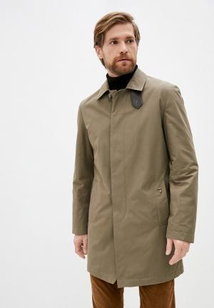 Куртка утепленная Trussardi. Цвет: хаки