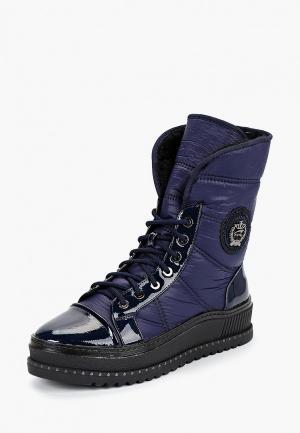 Ботинки King Boots. Цвет: синий