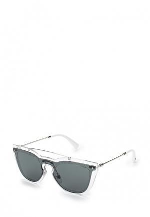 Очки солнцезащитные Valentino. Цвет: серый