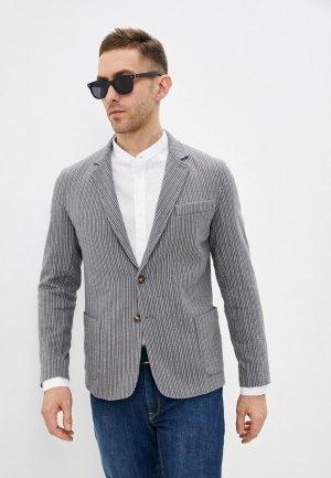 Пиджак Trussardi. Цвет: серый