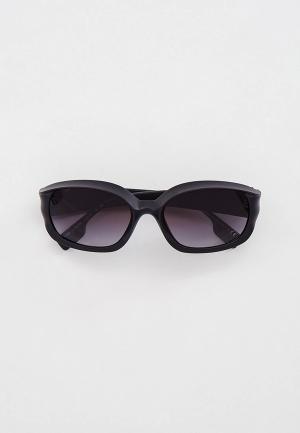 Очки солнцезащитные Burberry. Цвет: серый