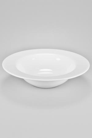 Тарелка 30,5 см Nikko. Цвет: белый