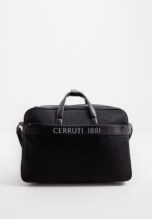 Сумка дорожная Cerruti 1881. Цвет: черный