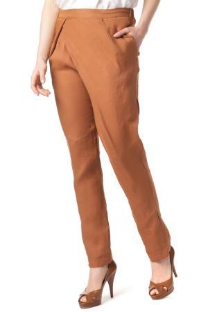 Pants ECCENTRICA. Цвет: коричневый