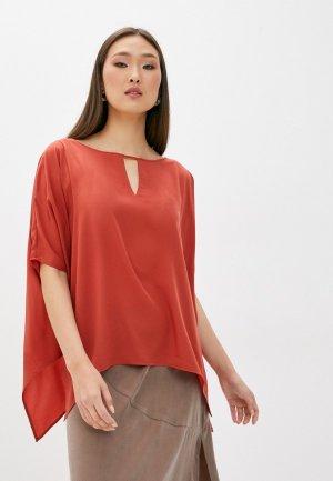 Блуза French Connection. Цвет: красный
