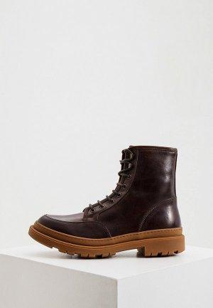 Ботинки Brunello Cucinelli. Цвет: коричневый