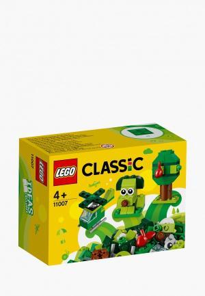 Конструктор LEGO. Цвет: зеленый