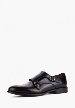 Туфли Etor. Цвет: черный