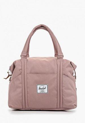 Сумка спортивная Herschel Supply Co. Цвет: розовый